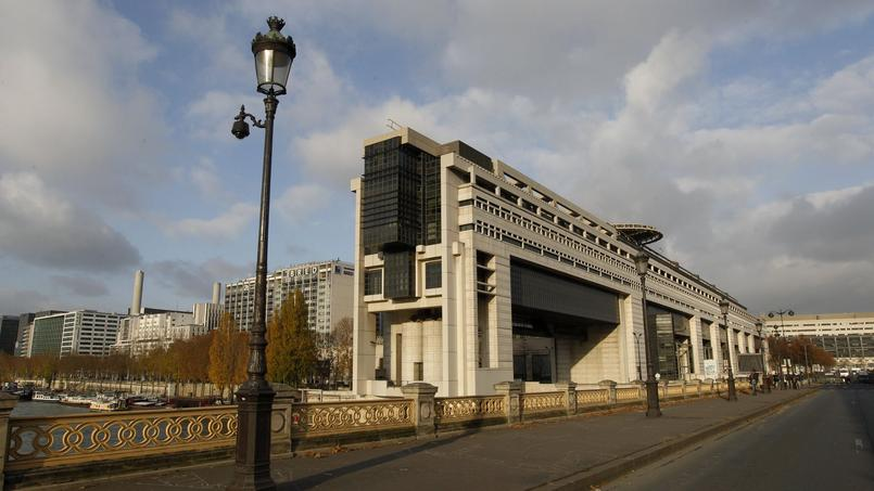 Ministère de l'Économie et des Finances, à Paris.