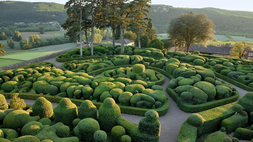 Jardin la magie verte des buis de marqueyssac for Jardins exceptionnels