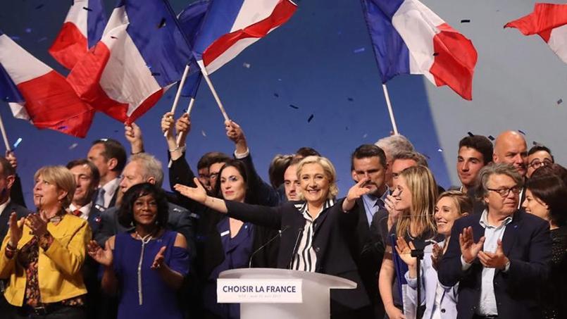 Marine Le Pen appelle les électeurs de Jean-Luc Mélenchon à la réjoindre