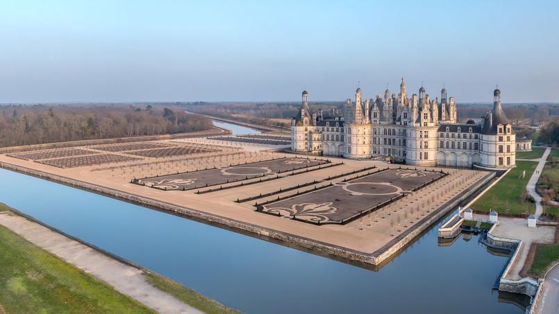 Les jardins à la française du château de Chambord, tels qu'ils existaient au XVIIIe siècle viennent d'être reconstitués