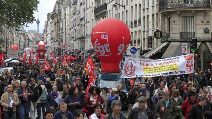 Le 1er mai dispersé des syndicats