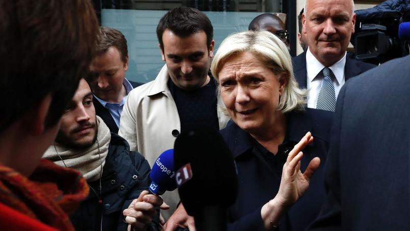Si Marine Le Pen est élue dimanche présidente de la France, «un an après très probablement» les Français paieront leur baguette «en franc», a affirmé lundi le vice-président de son parti d'extrême droite Front National, Florian Philippot.