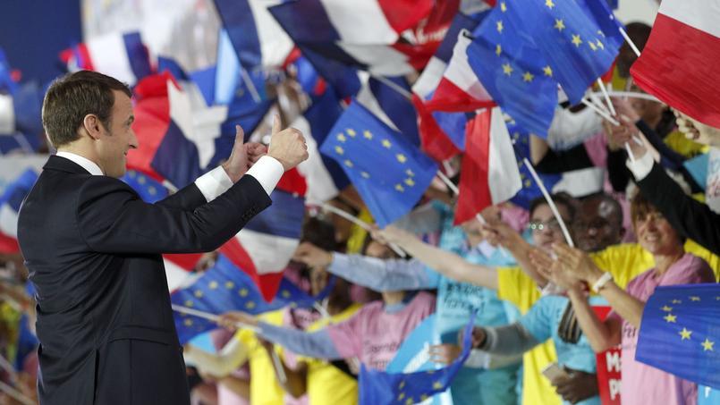 Emmanuel Macron, un candidat europhile.