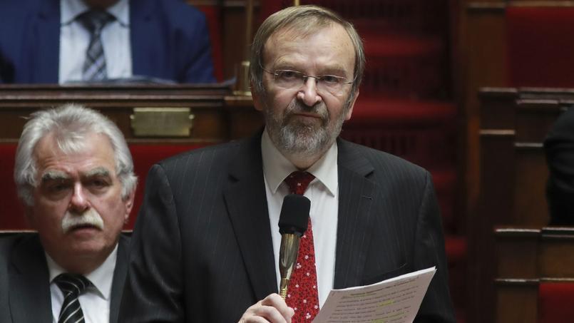 Jean-Jacques Candelier. député PCF du Nord