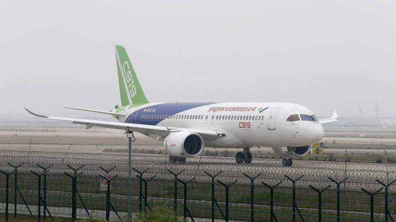 Premier test à grande vitesse à l'aéroport international de Shanhai, le 16 avril dernier.