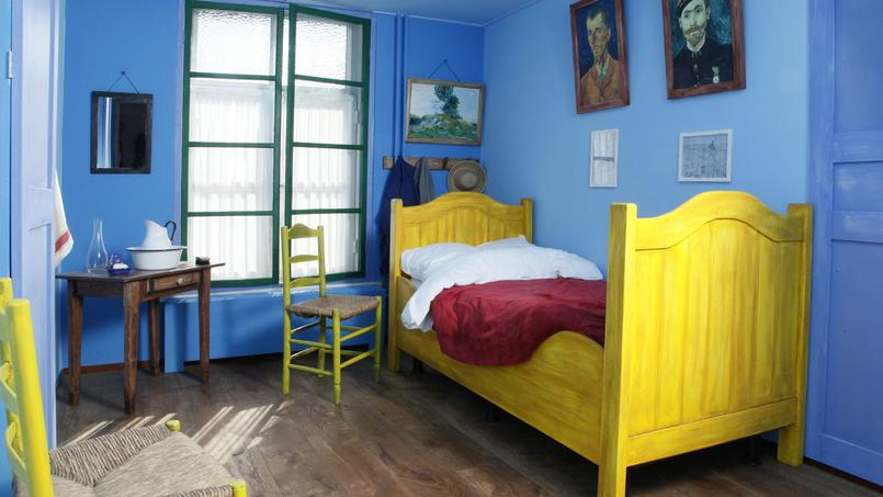 rimbaud dormir dans un tableau de van gogh. Black Bedroom Furniture Sets. Home Design Ideas