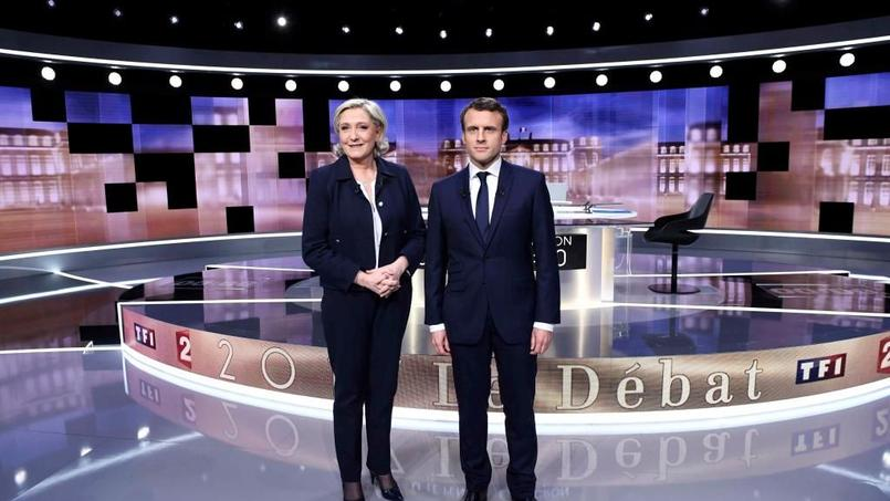 Macron le plus convaincant pour 63% des téléspectateurs — Présidentielle