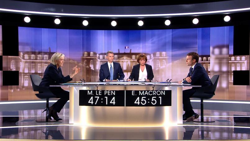 Marine Le Pen et Emmanuel Macron jugés (vidéo) — Débat