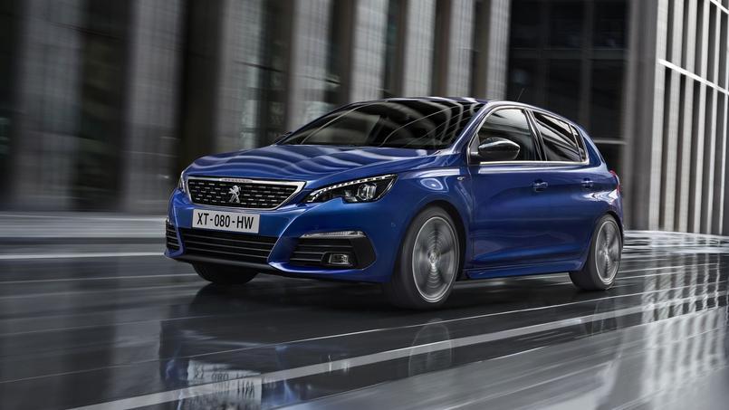 Subtiles retouches pour la Peugeot 308 phase 2 — Restylage