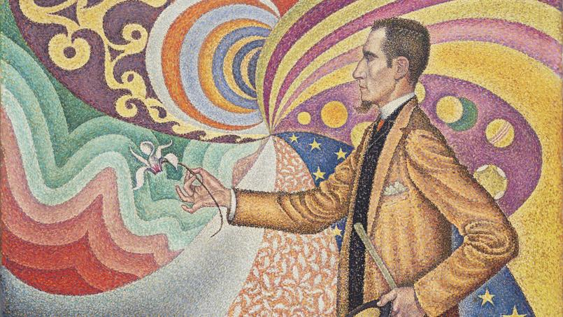 Le Français Paul Signac (1863 1935), «Opus 217. Against the Enamel of a Background Rhythmic withBeats and Angles, Tones, «Fractional gift of Mr. and Mrs. David Rockefeller».
