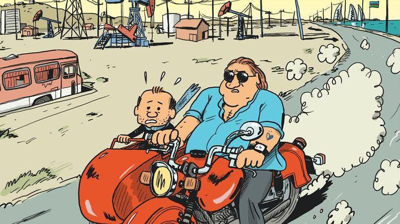 Sorti le 17 mars, «Gérard, cinq années dans les pattes de Depardieu», caracole en tête du classement des ventes de bandes dessinées, pour la deuxième semaine consécutive