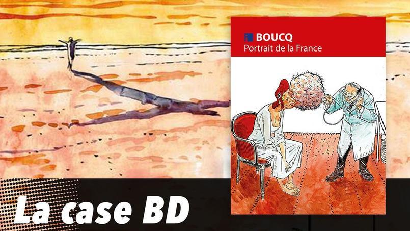 François Boucq: «Avec ce nouveau livre, j'ai pris la décision de me laisser ballotter par les vagues de l'actualité. Elles nous tombent dessus chaque jour, explique-t-il. J'y réponds à ma manière, par des dessins et par de l'humour.»