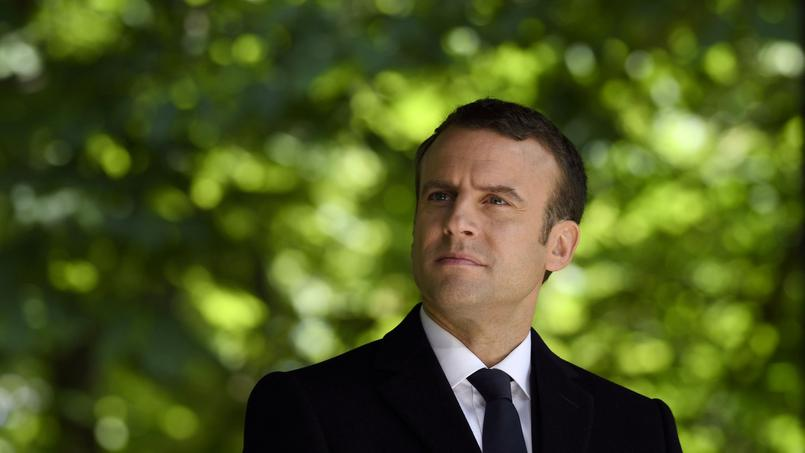 Emmanuel Macron à Paris, le 10 mai 2017.