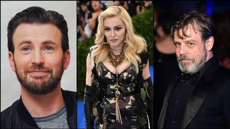 Chris Evans, Madonna et Mark Hamill ont félicité Emmanuel Macron pour son élection.