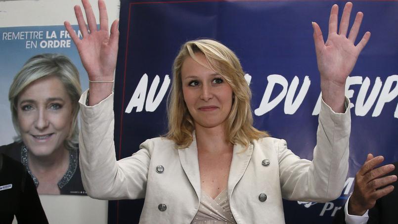 Marion Maréchal-Le Pen le 11 avril 2017.