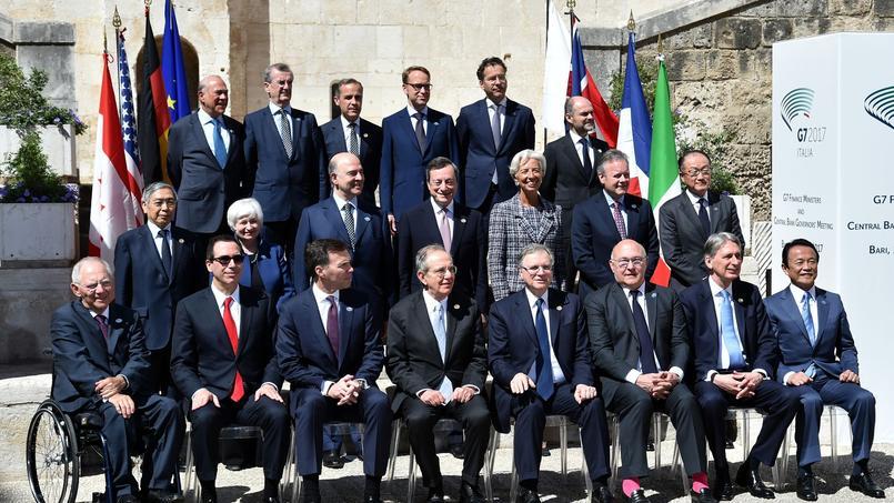 Soulagement au G7 après la victoire d'Emmanuel Macron