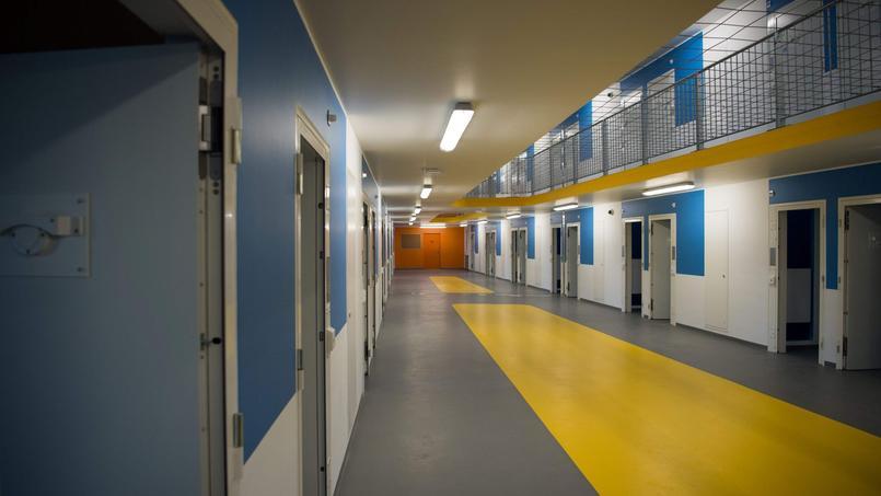 Les bâtiments de cette nouvelle prison sécurisée, aux murs jaune, bleu, gris ou blanc, sont séparés par des allées fleuries de pétunias, gauras roses ou marguerites.