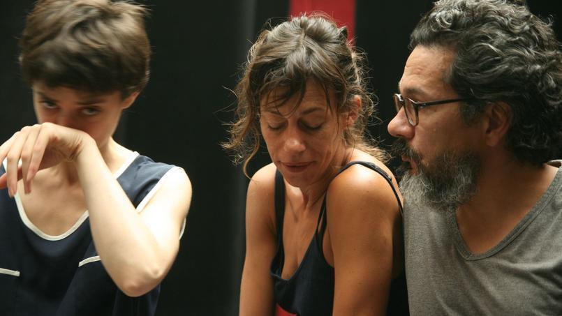 Carole Maurice, Sandy Boizard et Nicolas Liautard, trois interprètes d'une justesse parfaite.
