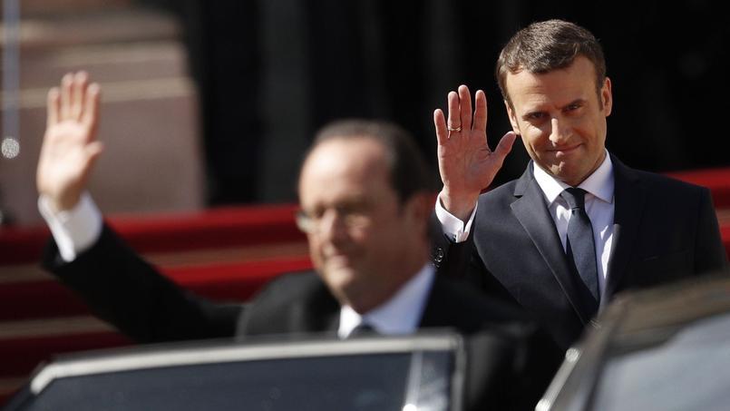 Ce dimanche avait lieu la passation de pouvoir entre François Hollande et son ancien ministre, Emmanuel Macron.