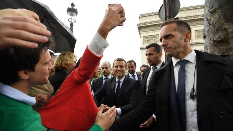 Emmanuel Macron a été investi huitième président de la République française, ce dimanche 14 mai 2017.