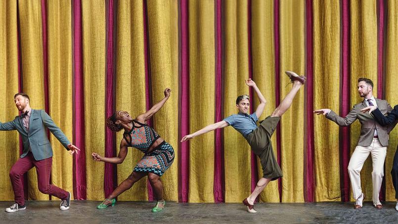 Les professeurs danse de l'école de danse Brotherswing.