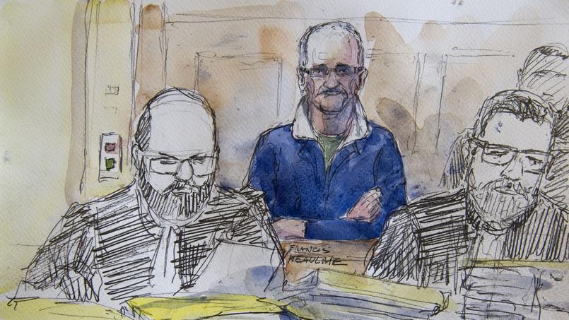 Francis Heaulme, lors du procès de Metz.