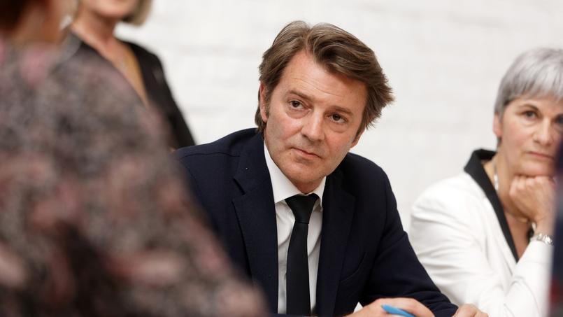 François Baroin, chef de file des Républicains pour les élections législatives.