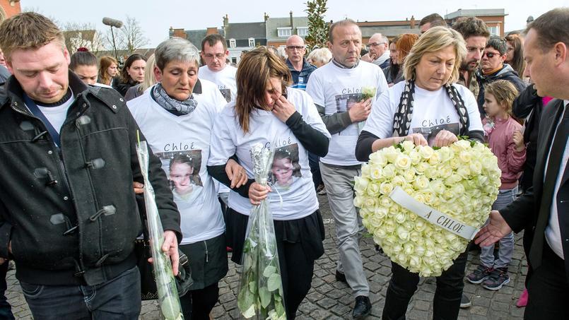 Plusieurs marches blanches avaient été organisées en hommage à Chloé, violée et assassinée en 2015.