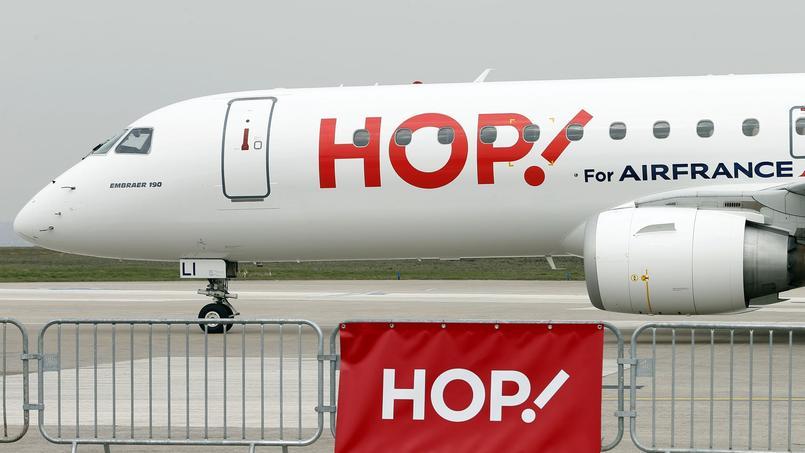 Le grand retour de la carte «week-end» qui devrait permettre à Hop! Air France de concurrencer durablement les low cost. Crédit: Reuters