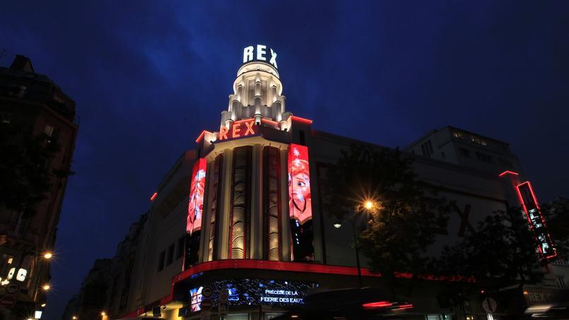 Le cinéma Le Grand Rex, surles Grands Boulevards (IIe).