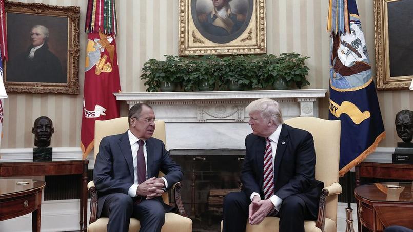 Donald Trump est accusé d'avoir livré des informations sensibles au ministre russes des Affaires étrangères, Sergueï Lavrov.