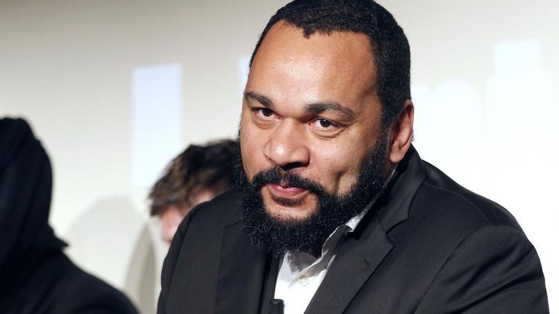 L'acteur Dieudonné M'Bala M'Bala en janvier 2012 à Paris.