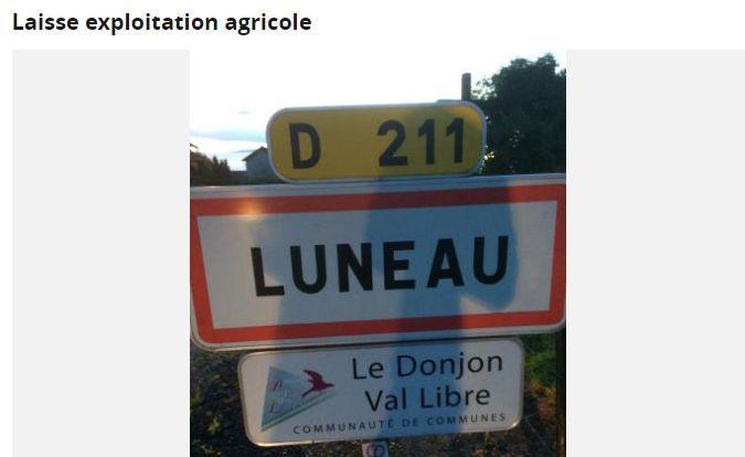 C'est dans l'Allier que vivent les agriculteurs qui ont mis une annonce sur le Bon coin