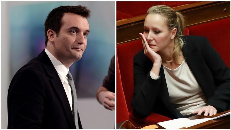 Florian Philippot et Marion Maréchal-Le Pen.