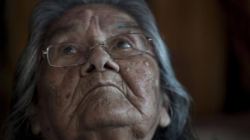 Cristina Calderon, 89 ans, dernière locutrice du yagan