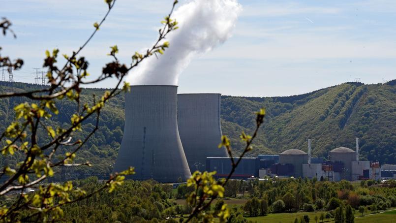 Centrale nucléaire de Chooz (Ardennes).