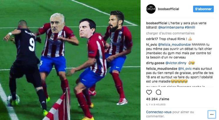 Benzema écarté des Bleus: la photo que n'a pas digérée Deschamps