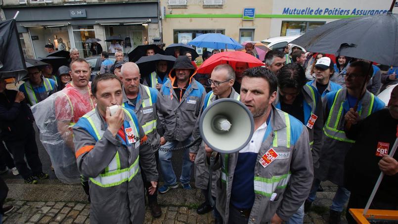 Des représentants de GM&S reçus à Bercy