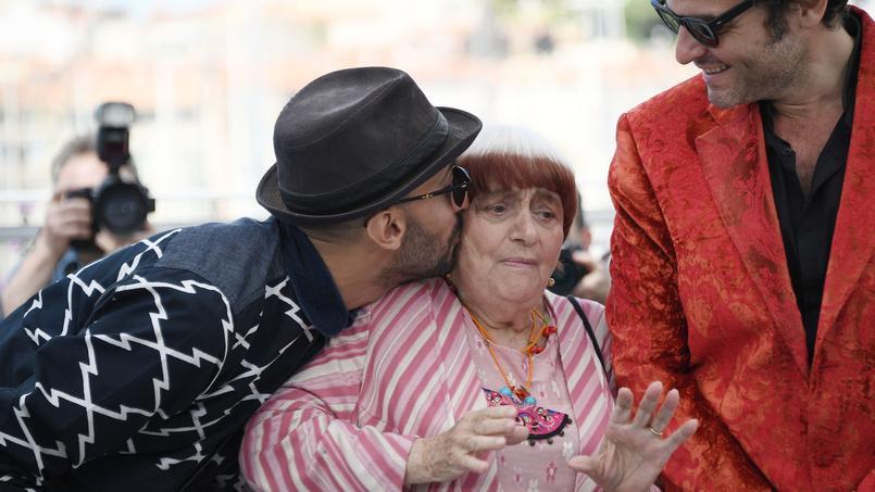 À Cannes, JR, Agnès Varda et M (qui a composé la bande-son) présentent Visages, Village, un film hors compétition