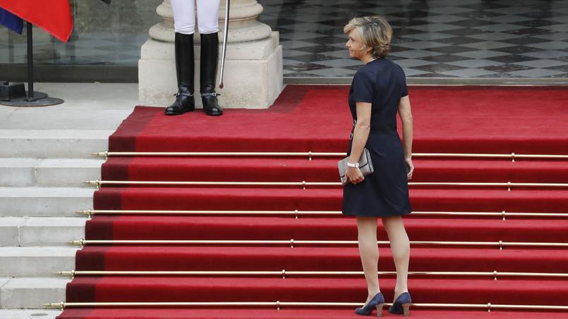 Valérie Pécresse lors de l'investiture d'Emmanuel Macron, le 14 mai 2017.