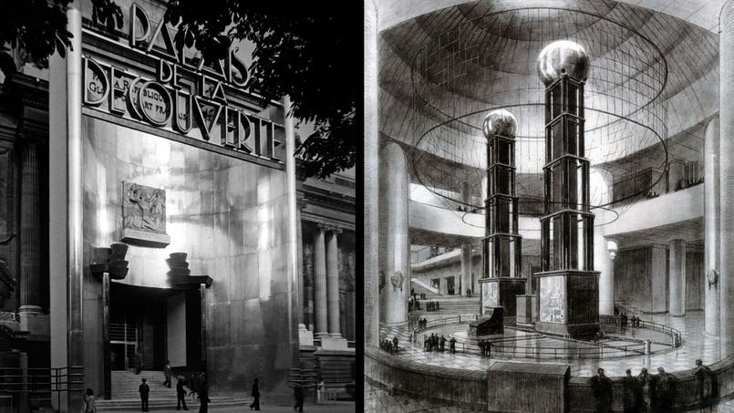 Derrière les portes du Palais de la découverte en 1937, le public pouvait admirer le générateur électrostatique Van de Graaff.