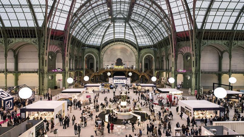 La 3e édition de Taste of Paris, sous la nef du Grand Palais (Paris VIIIe).