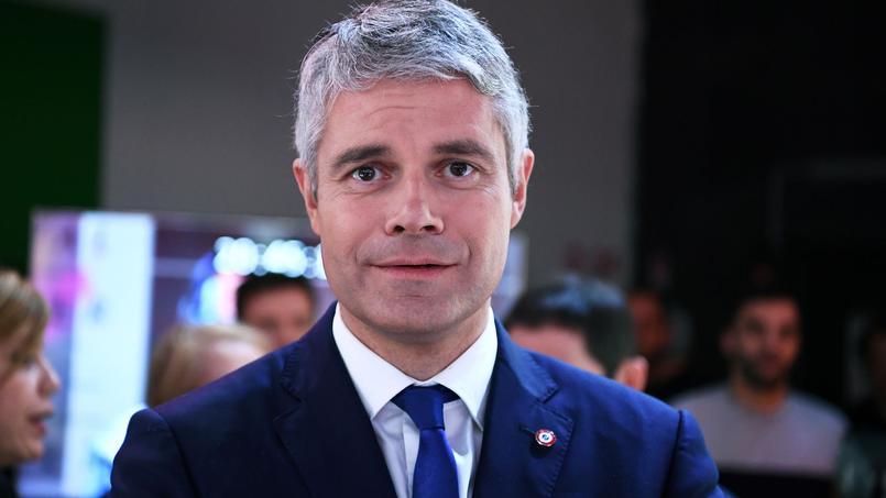 Laurent Wauquiez, président LR de la région Auvergne-Rhône Alpes