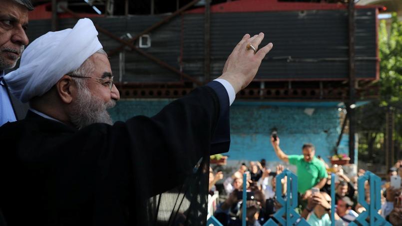Par rapport à sa première élection en 2013, Hassan Rohani gagne cinq millions de voix, selon les chiffres publiés par le ministère de l'Intérieur.
