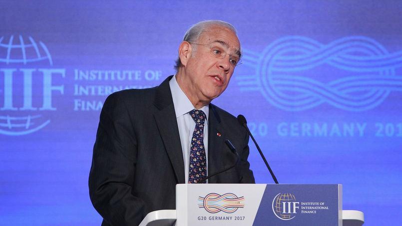 José Ángel Gurria, le Secrétaire général de l'OCDE, le 16 mars 2017.