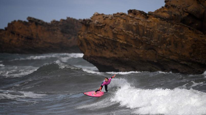 Pauline Ado a obtenu haut la main le meilleur score du premier tour des dames ce samedi à Biarritz, lors des Championnats du monde.
