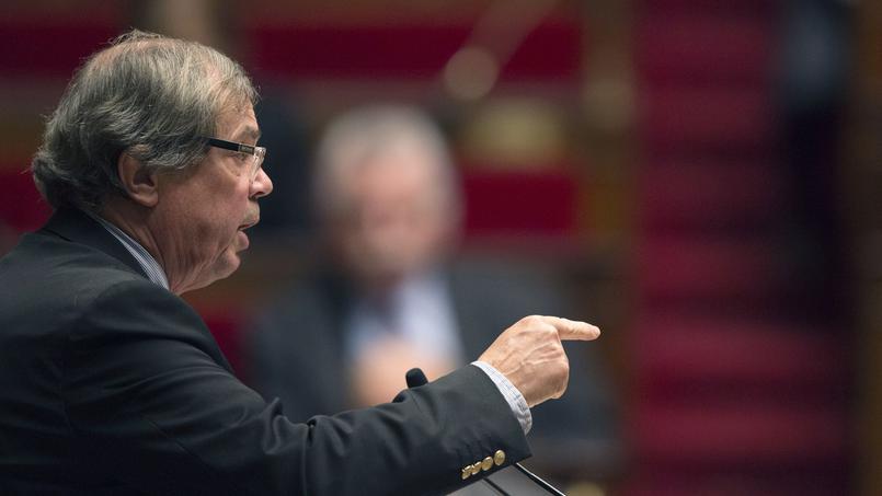 Alain Tourret à l'Assemblée nationale, le 4 décembre 2013.