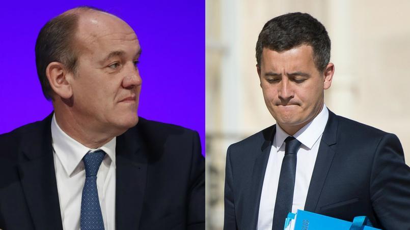 France : un député LR porte plainte contre Darmanin pour