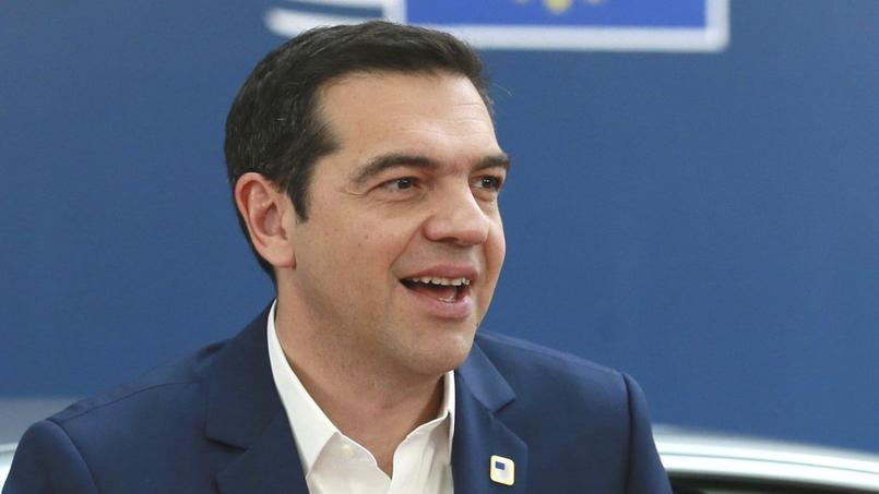 Le premier ministre grec Alexis Tsipras, le 29 avril 2017 à Bruxelles.