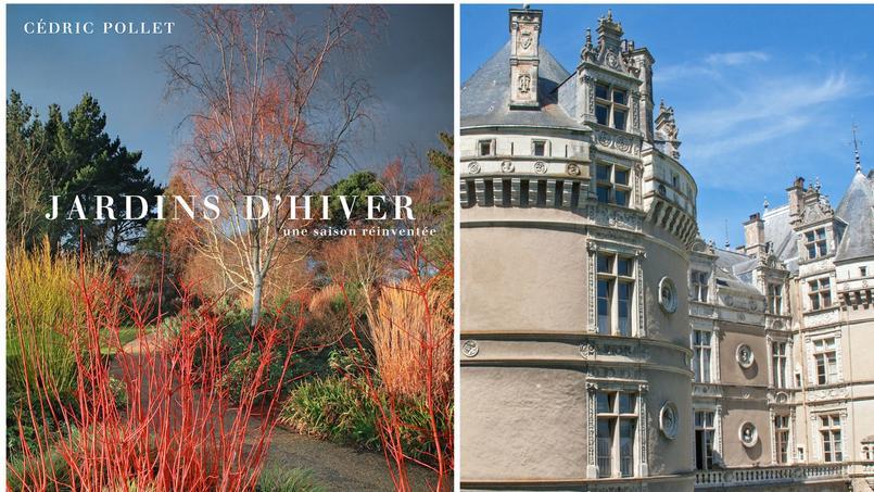 Le livre Jardins d'hiver de Cédric Pollet a été récompensé dans le cadre prestigieux du Château du Lude (Sarthe).